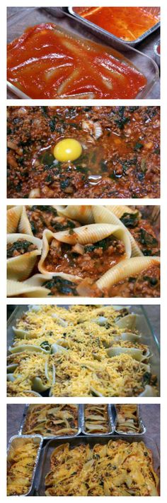 stuf shell, stuffed shells
