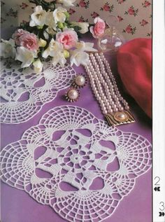 Small White Lace Crocheted Doily Something New by CrochetMiracles, $7.50