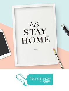 Let's Stay Home Typo