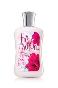 Pink Chiffon by Bath and Bodyworks!