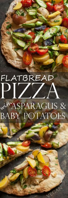 Produce On Parade | Flatbread Pizza with Asparagus