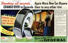 The Wrinkle's The Reason, General Tire ad, 1939