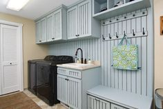 Decorating with Painted Bead Board ~ Humpdays with Houzz - Town & Country Living