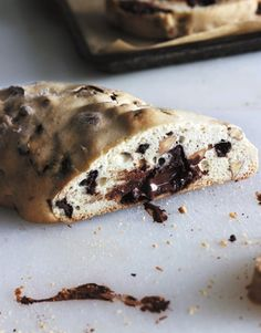 Almond and Chocolate Chunk Biscotti from Ready for Dessert by @David Lebovitz