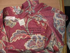 Patternmaking - Copy a favorite blouse