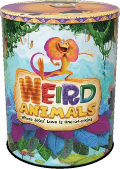 The New Weird Animals Starter Kit for VBS 2014. Available to Pre-Order. $152.99