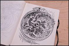 Sketchbook 2011 (vol3) by Irina Vinnik, Tattoo Inspiration
