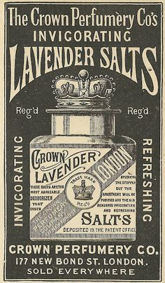 1890 ad: Invigorating Lavender Salts