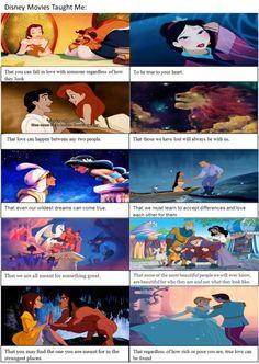 Disney Movies Taught Me: