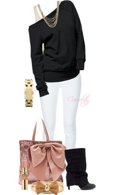 """Valentino Bag & Sweater Top"" by casuality on Polyvore"