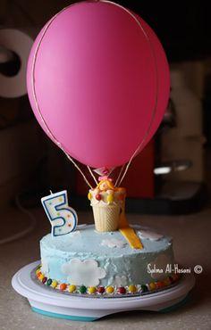Ballon cake, great idea!