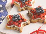 VeryBestBaking.com | NESTLÉ® TOLL HOUSE® Stars and Stripes Cookies