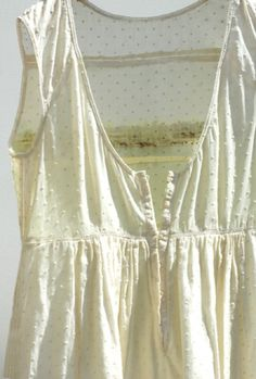 #delicate #sheer #texture #cotton (is light cotton just for summer?)