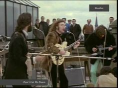 Beatles - Don't Let Me Down (1969) HQ