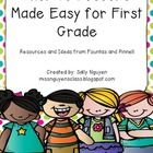In order to use this resource, you must have the Fountas & Pinnell First Grade Phonics Lessons book. All the information you will need to know,...