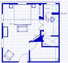 Ensuite Wir Main Bedroom On Pinterest David Mann Tile And Walk In Shower