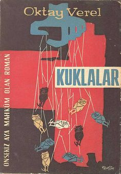 Kuklalar, 1960 (Book cover from Turkey)