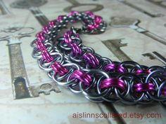 BDSM Chainmaille Slave Collar Choker Necklace by aislinnscollared, $40.00