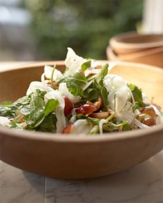 arugula, fennel & grape salad with cashews ... from Tyler Florence ... it's gotta be good!