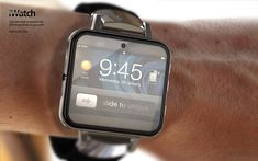 NEED: Hot iWatch concept
