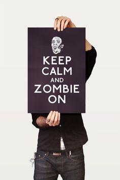 ...zombie on.