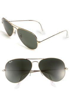 Ray-Ban Large Original Aviator 62mm Sunglasses | Nordstrom #rayban #ray_ban #rayban_sunglasses ray ban sunglasses , ray ban outlet