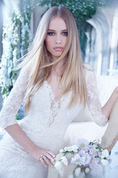 Bridal Gowns, Wedding Dresses by Alvina Valenta - Style AV9458