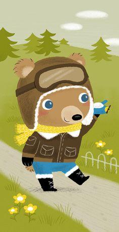 bear, yuhsuan huang, illustrations, children illustr