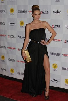 Be The Link & Fashion Blogger @KierMellour helped Raise Awareness #UntilTheresACure at an LA Gala