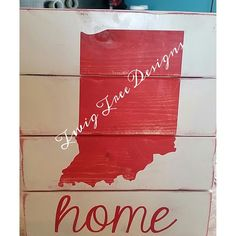 Hoosier fans ?  Love these state signs