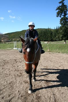Horse riding at The Giggling Pony