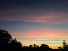 @JMichaelsNews sent this picture of Plymouth, MA, to #TODAYSunrise.