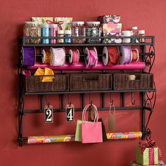 Wall Craft Rack