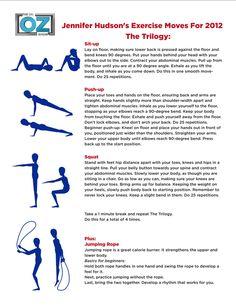 Jennifer Hudson's Workout | The Dr. Oz Show