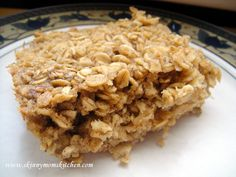 Healthy Baked Oatmeal Recipe