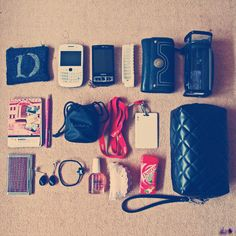 What's in your bag ? by Dylla Zaidy, via Flickr --- from now on, my school things will be like this