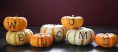 simple autumn decoration