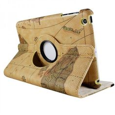 ipad cover, ipad mini, world maps, ipad case, mini case, phone pocket