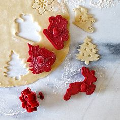 Holiday Piecrust Cutters #williamssonoma