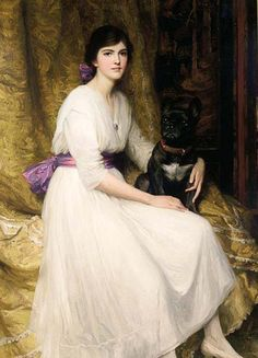 19thcentury:    Portrait of the Artist's Niece, Sir Francis Dicksee