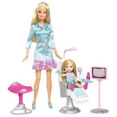 Dental hygienist Barbie!!! Omg!!!!
