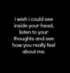 I wish i could see