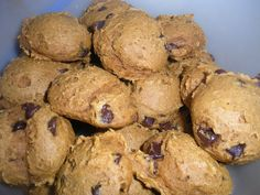 Pumpkin Chocolate Chip Cookies  Easy and fast to make  (Good any time of the year, not just in the fall!)