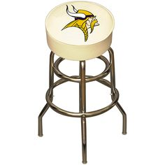 Vikings bar stool for $199.99.  Made in the USA and officially licensed.