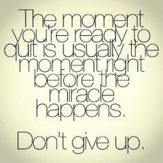 It's all about staying motivated and inspired!  #dontgiveup #Instagram