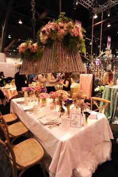 Tablescapes/Chandelier