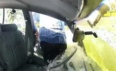 How to escape a sinking car (without drowning :P) - http://SurvivalistDaily.com/how-to-escape-a-sinking-car/
