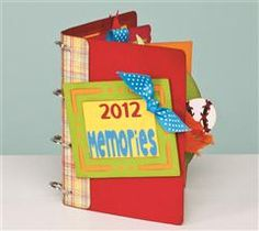 This versatile album is a great way to capture those special moments in your life!  #Cricut