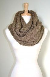 Enjoy this gorgeous and soft knitted infinity scarf all season long.  It is functional and versatile from day-to-night.  Besides adding a splash of color to your outfit, this scarf adds more texture to your look with it's knitted and chunky pattern. $39.99 Use code PINIT at checkout for 10% off your entire order.