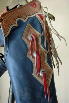 1960s Vintage American Western Chaps // Wild West. SOLD 475.00, via Etsy.